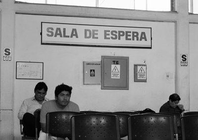 Aurore-Alexandra Castellacci - Station de bus, Mancora - Pérou