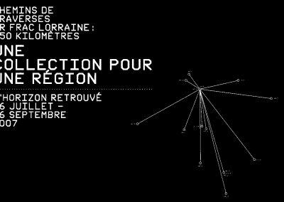 Chemins de traverses – Exposition en partenariat avec le FRAC Lorraine