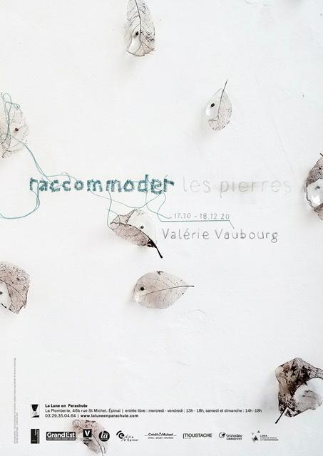 Raccommoder les pierres – Exposition de Valérie Vaubourg