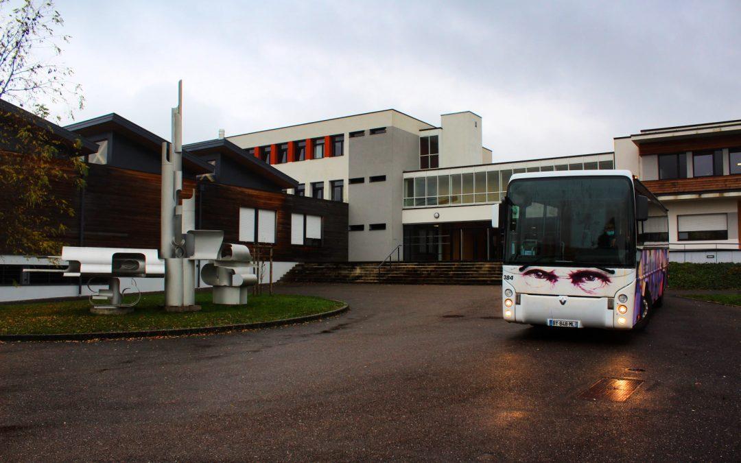 Article 100% Vosges – 18 novembre 2020 – Collège Maurice BARRES de Charmes